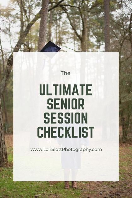 Senior Checklist Pin